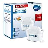 Brita Maxtra + Cartouches pour filtre à eau, Blanc, Plastique, blanc, Pack of 12