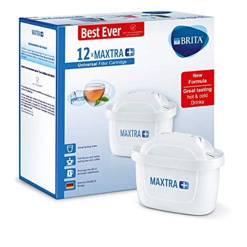 BRITA MAXTRA+ Water Filter Cartridges, Compatible with BRITA Jugs, Helps with...