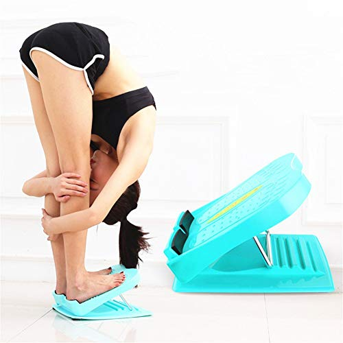 LuuBoes Adjustable Incline Boards and Calf/Ankle Stretcher, Portable Slant Board Positions Foot Stretch Wedge Board for Hamstring Achilles Leg Muscle Exercise