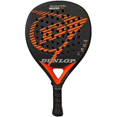Dunlop Pala pádel Revolution Carbon Pro 2.0 Orange Rugosa