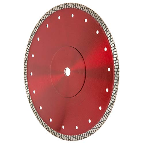 "Cyclone Supreme Super Thin 10-Inch Tile Saw Diamond Blade for Wet Cutting Porcelain, Ceramic, Granite, Marble Tiles (10"" X .055 X 5/8"" Arbor)"