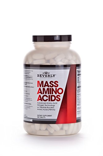 Beverly International Mass Amino Acids, 500 Tablets. They'll think you've been lifting for years