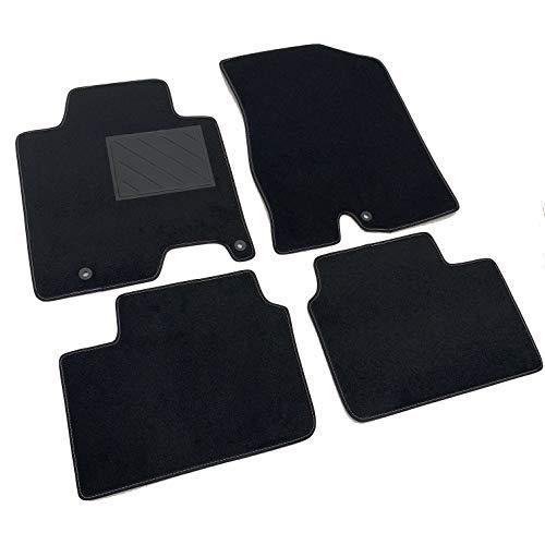MTC Alfombrillas para Kia Ceed'D Ceed II desde 2012 a medida, antideslizantes, talonera de PVC, fijación de anclaje