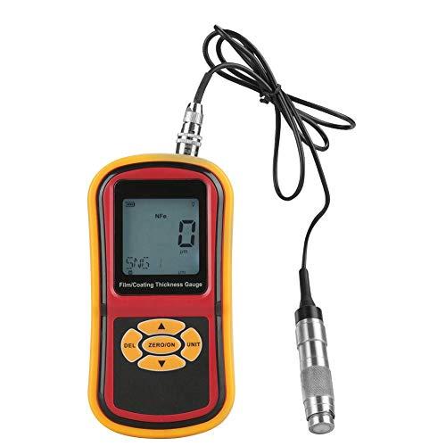 ZJN-JN Peinture Testeur d'épaisseur - GM280 Écran LCD Gauge Revêtement numérique épaisseur 0-1800μm peinture Film testeur compteur Instruments Indicateurs de mesure