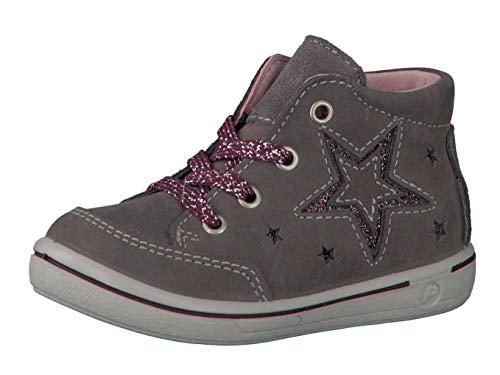 RICOSTA Pepino by Fille Bottes & Boots SINJA, Bottes pour Enfants, Lassie Bottes,Bottes à Lacets,imperméables,Meteor,21 EU / 5 UK