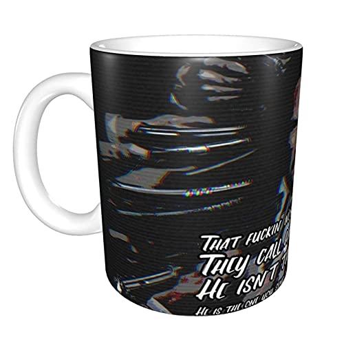 I Love You Too Honey Bunny Pulp Fiction Taza de té de cerámica para el hogar Taza de café de oficina 10 oz