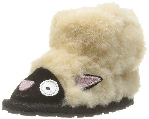 EMU Australia Unisex-Baby Liitle Creatures Walker Lamb Krabbel- & Hausschuhe, Beige (Natural), L