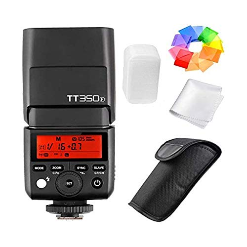 Godox TT350F 2.4G HSS 1/8000s TTL GN36 Camera Flash Speedlite