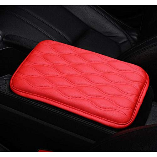 NASDIZL Car Armrest PadAnti Scratch Universal Waterproof Box Cover Cushion Resistant Center Console Non Slip Arm Rest