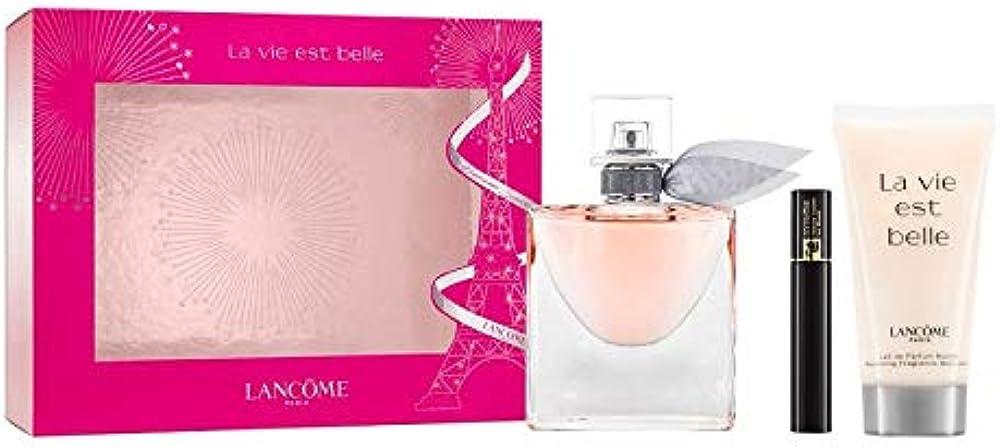 Lancôme la vie est belle, set di fragranze (eau de parfum, bodylotion, mascara), 82 ml 3614272376700