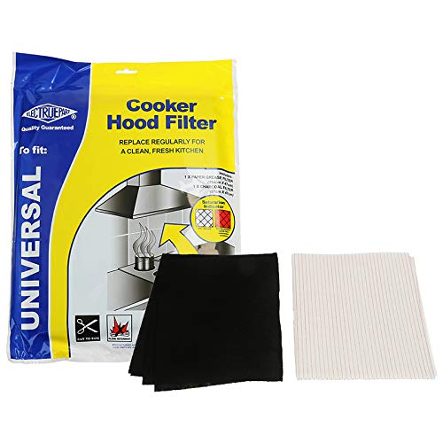 Electruepart &graisse Papier filtre en fibres de charbon de bois