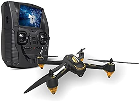 HUBSAN H501S X4 FPV - Drone con cámara, Negro
