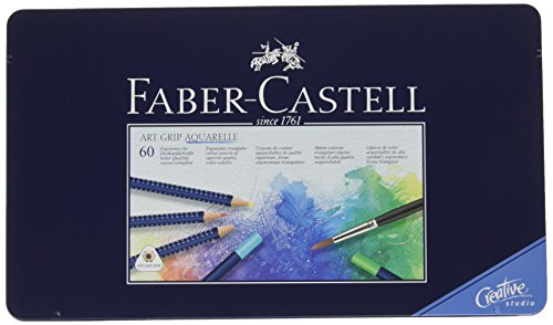 Faber-Castell 114260 Matite Colorate, 60 Pezzi, multicolore