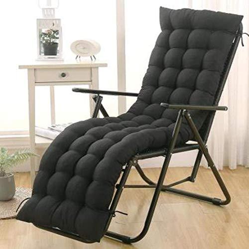 JGHF Cojín de color sólido suave y cómodo para silla de oficina, cojín de silla reclinable, cojín largo, varios tamaños disponibles (estilo 1 sin silla, 48 x 120 cm)