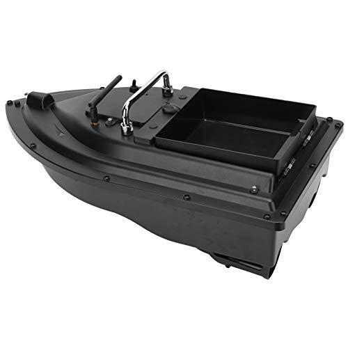 Alomejor RC Fishing Bait Boat Update 1.5kg Loading Double Motors Fish Bait Boat 500M/1640FT Remote Control(us)
