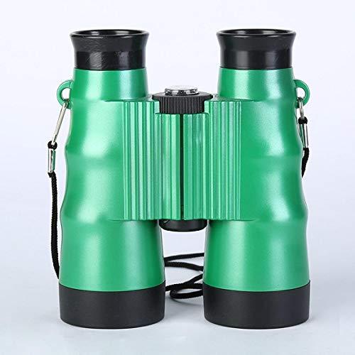 6X36 Telescopio Binoculares Plegables para Nios Juguetes para Nios Regalo De Cumpleaos Herramientas De Escalada para Acampar Al Aire Libre Gafas De Campo De Viaje Verde