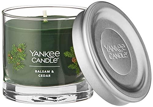 Yankee Candle Balsam & Cedar Signature Small Tumbler Candle