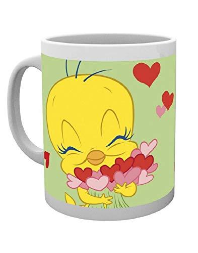 GB Eye Ltd, Tweety Pie, Valentines Love Bird, Tazza