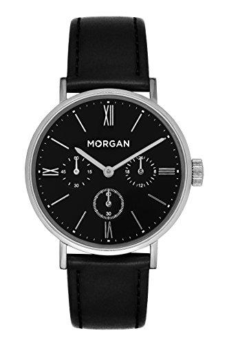MORGAN Damen Datum Norm Quarz Uhr mit PU Armband MG 009-AA