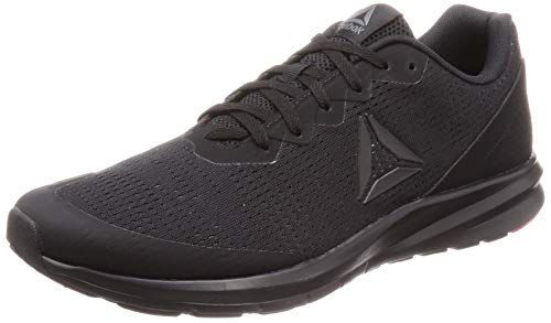Reebok Herren Runner 3.0 Traillaufschuhe, Mehrfarbig (Black/True Grey/White/Neon Red 000), 45 EU