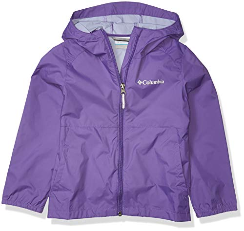 Columbia Girls' Toddler Switchback II Waterproof Jacket, Grape Gum, 3T