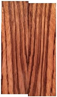 "Zebrawood Knife Scales - 3/8""x1.5""x5"" - 2 Pack"