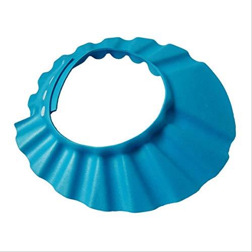 Bebé Niños Niños Champú seguro Baño Baño Gorro de ducha Sombrero Lavado Escudo para el cabello Gorro de champú elástico ajustable