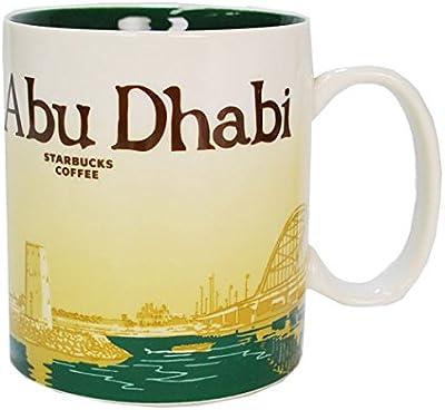 STARBUCKS スターバックス スタバ マグカップ アブダビ 海外 Abu Dhabi アラブ 首長国連邦 [並行輸入品]