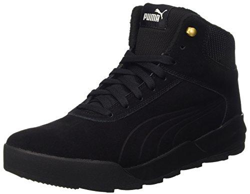 Puma Desierto Sneaker, Unisex Hohe Sneaker, Schwarz (PUMA Black-PUMA Black 02), 44 EU (9.5 UK)
