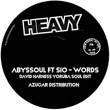 Words (David Harness Yoruba Soul Edit)