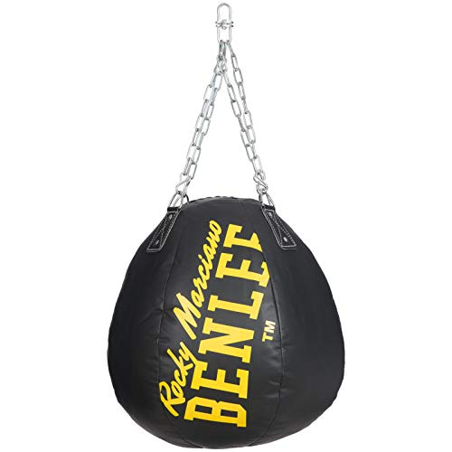 BENLEE Rocky Marciano Unisex– Erwachsene Leonardo Pu Wrecking Ball, Black, 65cm
