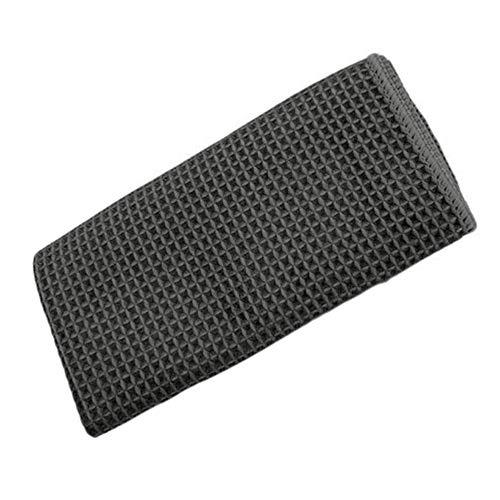 Fenghong Mikrofaser-Reinigungs-Tuch, Autowäsche Microfiber-Tuch-trockenes Tuch-Weiches Auto-Reinigungstuch-Auto-zelluläres Gewebe-weiche Tücher 40X40Cm-Detailierungs-Bürsten-Grau