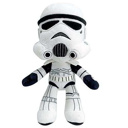 Star Wars - Peluche Stormtrooper 20 cm, Juguete para niños + 3 años (Mattel GXB26)