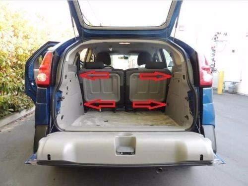 Envelope Style Trunk Cargo Net Behind Rear SEAT for Pontiac Aztek Fits 2001-2005