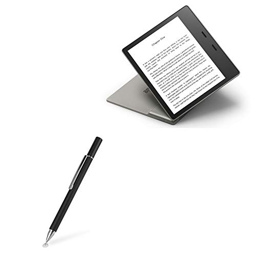 Caneta Stylus Amazon Kindle Oasis (3ª geração 2019), BoxWave [FineTouch Capacitive Stylus] Caneta Stylus super precisa para Amazon Kindle Oasis (3ª geração 2019) - Preto