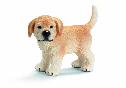 Schleich 16378  -  Figura/ Miniatura Granja, Cachorro Golden Retriever, de pie