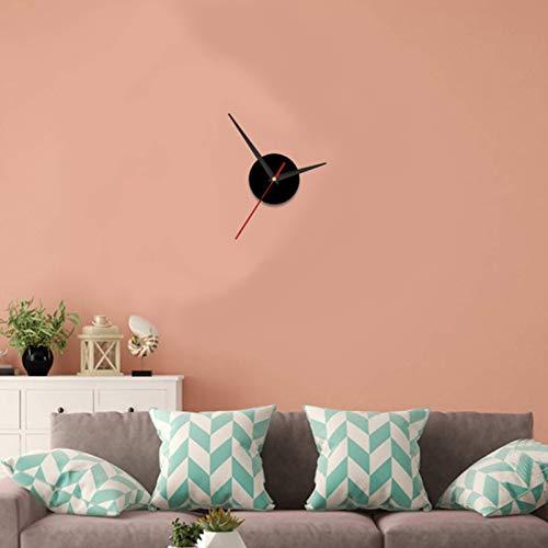 Fenze 3D Wall Sticker Clock 20-50cm Adjustable Mirror Surface Frameless Wall Clock with Silent Movement Modern DIY Decoration