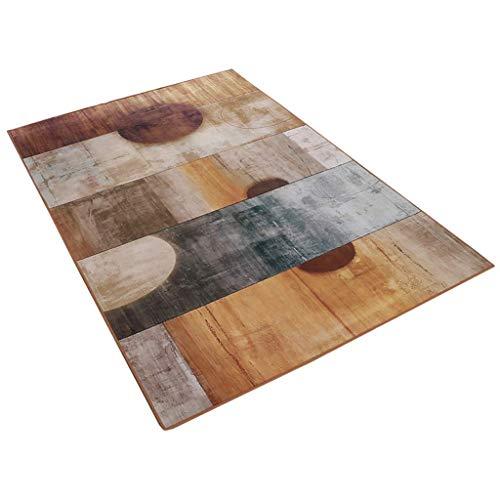 Binnendecoratie vintage stijl Nordic woonkamer salontafel sofa tapijt romantisch slaapkamer nachtkastje 4 kleuren en 6 maten: 90 × 150 cm 160×230cm #3