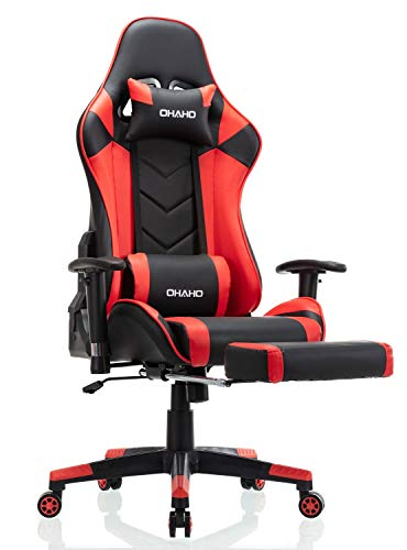Our #9 Pick is the Ohaho Gaming Massaging Office Chair