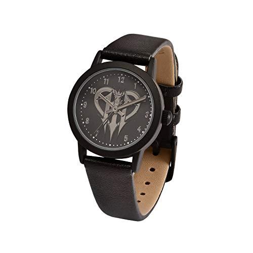 Accutime Watch Kingdom Hearts Reloj de Pulsera Logo analógico Ø Caja 2,4 cm Disney Negro