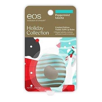 Eos Limited Edition Peppermint Mocha Lip Balm Sphere 0.8 Ounce