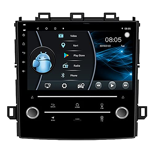 Android 10.0 Bluetooth 4.0 Radio de Coche Pantalla táctil para Subaru Forester XV 2017 2018 Estéreo de Coche Apple Carplay Soporte WiFi FM/Am,4 Core WiFi 2+32 Ultra Thin