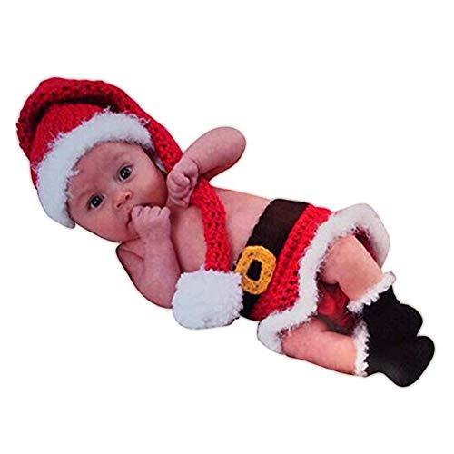 Baby Neugeborenen Fotografie Requisiten Baby Weihnachten Elf Hut Rock Stiefel Schuhe Set Handgemachte Häkeln Gestrickt Santa Claus Outfit Kostüm