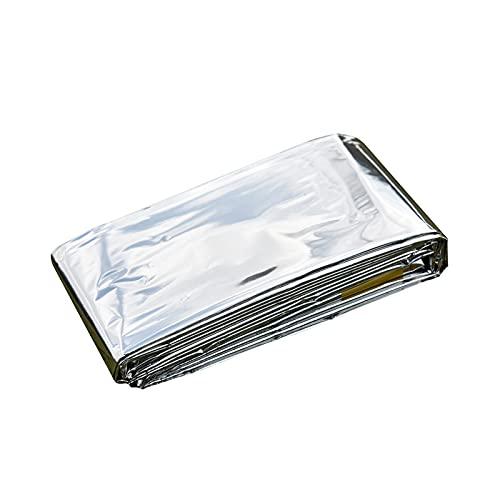 LJLWX Outdoor-Werkzeuge 130 * 210 cm Tragbare wasserdichte Notfall Emergent Decke Rettung Erste Hilfe wasserdichte Reise Camp Zelt Wanderung Außenüberleben Werkzeug Einfach zu verwenden