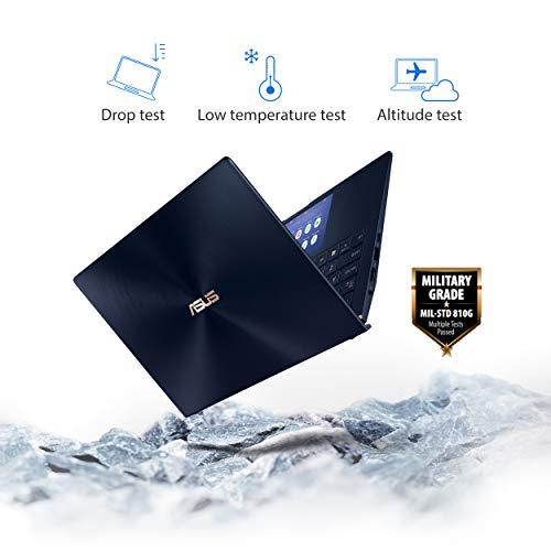 "Asu   s ZenBook 13 Ultra-Slim Laptop 13.3"" Full HD NanoEdge Bezel, Intel Core i7-10510U, 16GB RAM, 512GB PCIe SSD, Innovative Screenpad 2.0, Windows 10 Pro - UX334FLC-AH79, Royal Blue"