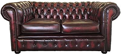 The Chesterfield Brand - Sofá Chester Brighton Rojo Gastado ...