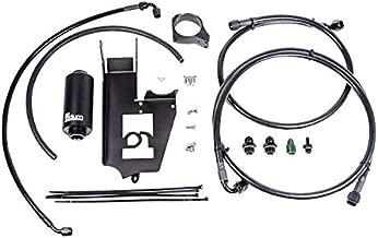 Radium Engineering Fuel Hanger Plumbing Kit Microglass Filter for 2003-07 Mitsubishi Evo 8/9