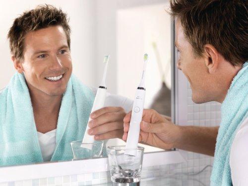 Philips Sonicare DiamondClean HX9331/04 cepillo eléctrico para dientes Adulto Cepillo dental sónico Blanco - Cepillo de dientes eléctrico (AC/Batería, 110-220 V, Ión de litio, 1 pieza(s), 1 pieza(s))