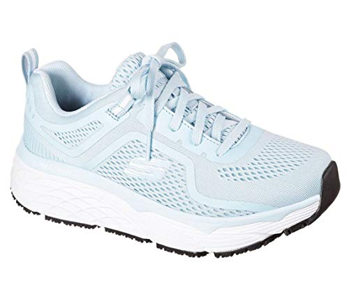 Skechers - Womens Elite Sr- Banham Shoe, Size: 11 M US, Color: Light Blue/White