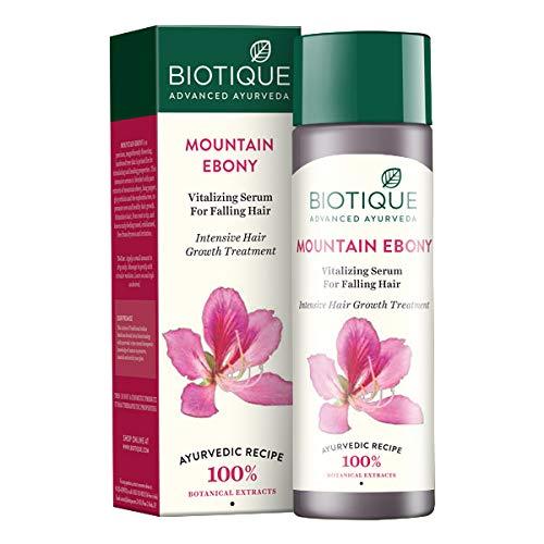 Biotique Bio Mountain Ebony Vitalizing Serum For Falling Hair Intensive Hair Care 120ml by Biotique